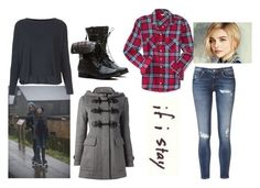 """If I Stay Mia Hall"" by caitlyn3321 ❤ liked on Polyvore featuring Topshop, Aéropostale and Burberry"