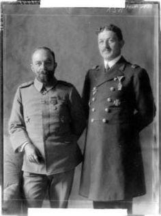 Cemal Paşa ile Rauf Orbay.