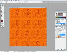 Free digital scrapbooking tutorial - create your own papers