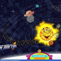 Con este juego podremos ordenar los planetas