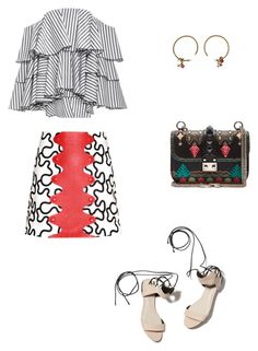 """""""graphic"""" by jana-raykow on Polyvore featuring 3.1 Phillip Lim, Valentino, J.W. Anderson, Caroline Constas and Louis Vuitton"""