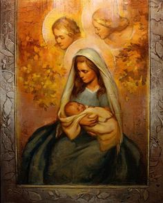 One way we can focus on the Savior this season is through art. Numerous Latter-day Saint artists have depicted his birth through paintings of the nativity.