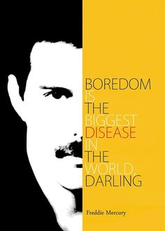 """""""Freddie Mercury Quote"""" Canvas Prints by pahleeloola 
