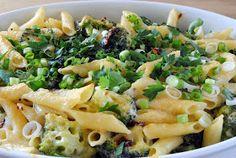 ChocoLanas matblogg: Lakseform med pasta, broccoli og hvit saus