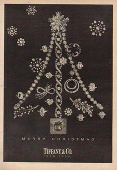 c6404f673bbc8 Tiffany Ad Christmas 1955 Jewellery Advertising, Jewelry Ads, Jewelry  Branding, Cute Jewelry,