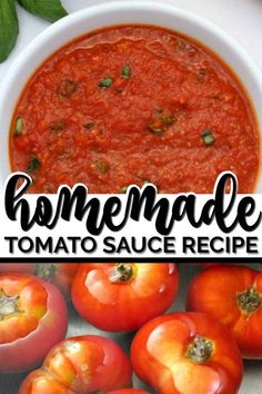 How to Make Homemade Tomato Sauce - Recipes - Pasta How To Make Tomato Sauce, Easy Tomato Sauce, Fresh Tomato Pasta Sauce, Italian Tomato Sauce, Tomato Paste, Basic Pasta Sauce Recipe, Healthy Tomato Sauce Recipe, Pasta Sauce With Fresh Tomatoes, Spaghetti Tomato Sauce