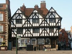 Leigh-Pemberton House is a historic house located on Castle Square in Lincoln, England, located on Bailgate between Lincoln Cathedral & Lincoln Castle. It is a half-timbered Tudor house, originally built for a merchant in 1543. A bank from 1899 until 1979, it was eventually given to the city of Lincoln by the Chairman of the National Westminster Bank, Sir Robin Leigh-Pemberton, (later governor of the Bank of England).