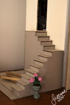 stairs from chipboard