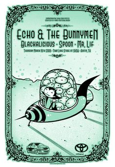 Echo & The Bunnymen, Blackalicious AND Spoon? Wow, my kind of show!
