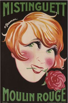 """By Charles Gesmar, 1 9 2 6, Mistinguett. Charles Geismar, said """"Charles Gesmar"""" (1900-1928), was a French poster artist and costume designer. Mistinguett, whose real name was Jeanne Bourgeois (1875-1956), was a French singer and actress."""