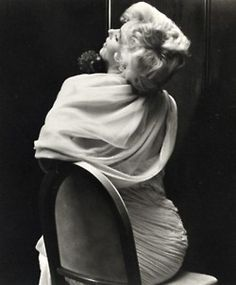 Marilyn Monroe being photographed by Cecil Beaton, 1956