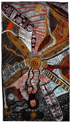 This article looks at the meaning of Aboriginal art from North Central Australia where aboriginal dot art originated. Aboriginal art meaning depends on Aboriginal Art Symbols, Aboriginal Dot Painting, Aboriginal Artists, Aboriginal Culture, Aboriginal Patterns, Aboriginal Art Australian, Indigenous Australian Art, Indigenous Art, Illustration Photo