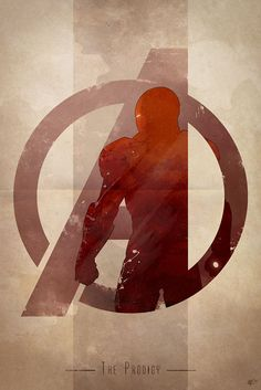 Anthony Genuardi – Avengers Logo, Iron Man