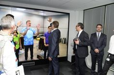 Cisco's new immersive demo lab in Paris's Internet of Everything Innovation Center