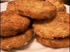 Receita de Batata à milanesa - batatas na farinha de rosca nos ovos batidos e novamente na farinha de rosca Fritar em óleo quente Escorrer sobre papel absorvente e servir...