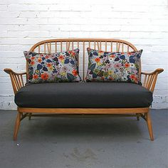 Nasturtium Linen Rectangular Cushion