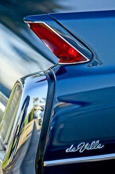 1962 Cadillac Deville Detail