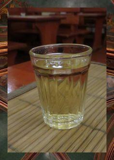 plum liquor (Ţuică) in Bucharest, Romania