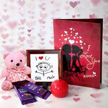 A Good Gift For Girlfriend Lots Of Love Hamper Best Birthday