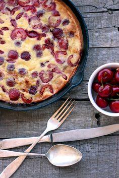 Gluten-free Cherry Clafoutis - Dish by Dish