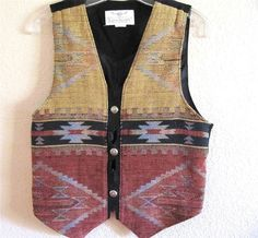 Designer Vest Size Small, Longhorn Country, Western Southwestern Women's $23.50 #WesternVest at JustLuvTreasures.com