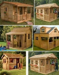 Guest House Shed, Shed To Tiny House, Modern Tiny House, Tiny House Cabin, Tiny House Design, Storage Building Plans, Building A Shed, Cubby Houses, Play Houses