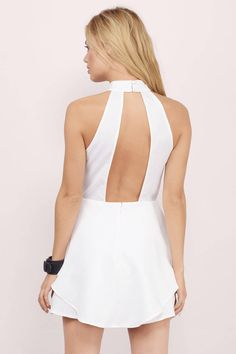 test page 6, Tobi, White Love & Lust Skater Dress