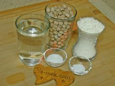 Nohut Mayalı Ekmek İçin Gerekli Malzemeler Glass Of Milk, Canning, Tableware, Desserts, Kitchen, Snakes, Food, Bread, Biscuits