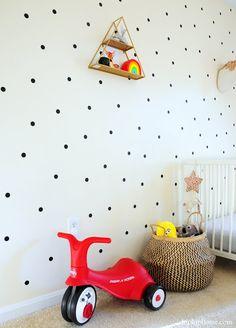 BABY GIRL'S NURSERY IDEAS- HIP HIP HOME! Nursery Nook, Girl Nursery, Nursery Ideas, Nursery Decor, Ikea Crib, Whimsical Nursery, Hip Hip, Nursery Neutral, Cribs