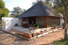 Shala self-catering cottage (sleeps nestled on a game farm in Greater Kruger Area - to Kruger Park Self Catering Cottages, Kruger National Park, Safari, Patio, Canvas Material, Luxury, Lions, Places, Outdoor Decor