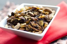 #LowCarb #Paleo Serundeng Katjang - Savory Granola Snack Mix Shared on https://www.facebook.com/LowCarbZen