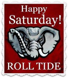 Alabama football good morning roll tide