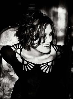 Keira Knightley photographed by Ellen Von Unwerth for Vogue Italy, January 2011.
