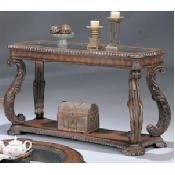#Antique Finish Sofa #Table by Coaster Furniture