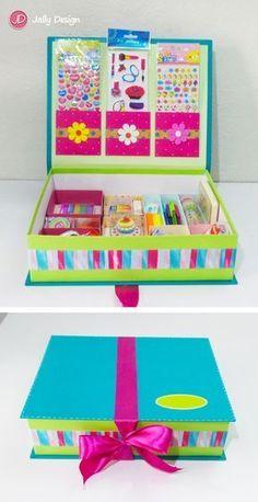 Escolar Nail Art corsi x nail art treviso Cardboard Crafts, Paper Crafts, Diy For Kids, Crafts For Kids, Diy And Crafts, Arts And Crafts, Ideias Diy, Diy Box, Diy Organization