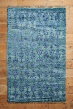 Overdyed Pericon Hand-Knotted Rug - anthropologie.com