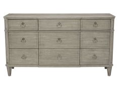 Shop for Bernhardt Dresser, and other Bedroom Triple Dressers at Burke Furniture Inc. Country Furniture, Large Furniture, Quality Furniture, Furniture Design, Furniture Projects, 9 Drawer Dresser, Dresser With Mirror, Chest Of Drawers, Silver Dresser