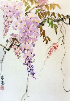 Wisteria by Peggy Ann Duke