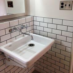 Pin on interior_bathroom Wash Tubs, Wash Stand, Natural Interior, Bathroom Design Small, Modern Exterior, Washroom, Powder Room, Home Accessories, Sink