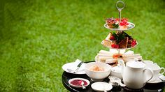 Afternoon Tea for Two at the garden