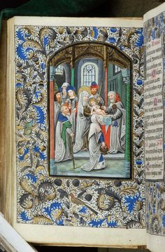 Book of Hours, MS H.7 fol. 70v - Images from Medieval and Renaissance Manuscripts - The Morgan Library & Museum