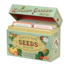 with empty seed packets! genius