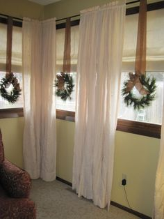 rustic christmas wreaths - Google Search