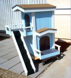 Dog house for two