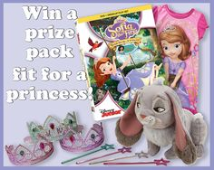 Disney's Sofia The First: Ready To Be A Princess #Review & #Giveaway!