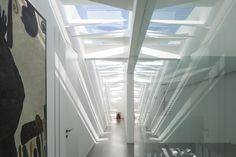 The white gallery house by Pitsou Kedem Architects.
