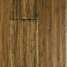 "1/2"" x 5-1/8"" Distressed Honey Strand - Morning Star | Lumber Liquidators"