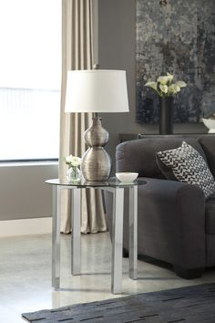 Jonies Round End Table | Ashley | Home Gallery Stores