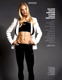 The most popular bodybuilding message boards! Female Crossfit Athletes, Female Athletes, Darya Klishina, Sublime Creature, Tight Abs, Long Jumpers, Fitness Inspiration Body, Track And Field, Sport Girl