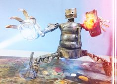 Assemblage robot tripod